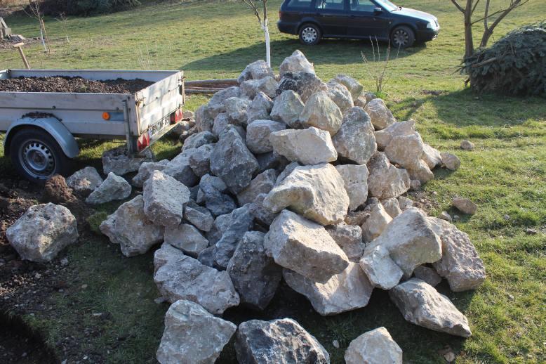 Gartenmobel Rattan Fabrikverkauf : besser zu viele steine als zu wenige diesen haufen steine haben wir